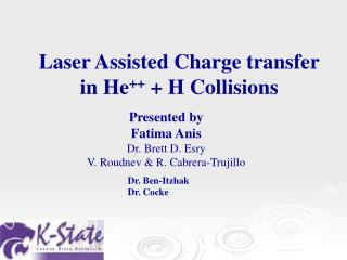 Laser Assisted Charge transfer in He ++  + H Collisions