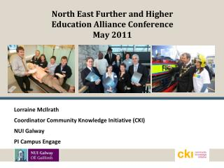 North East Further and Higher Education Alliance Conference May 2011