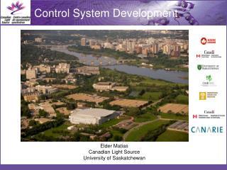 Elder Matias Canadian Light Source University of Saskatchewan