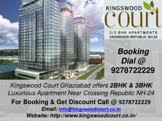 Kingswood apartments 2/3/4 BHK, Booking Call 9278722229