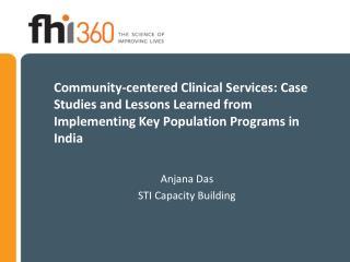 Anjana Das STI Capacity Building