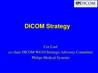 DICOM Strategy
