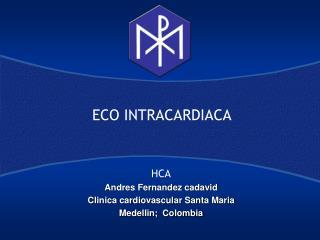 ECO INTRACARDIACA
