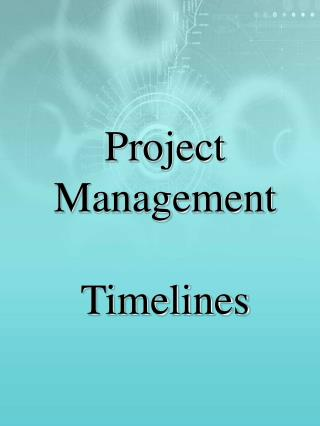 Project Management Timelines