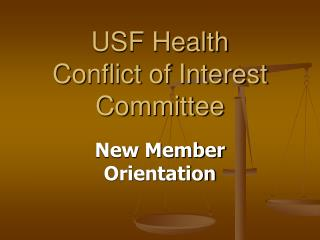 USF Health  Conflict of Interest Committee