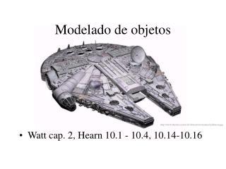 Modelado de objetos