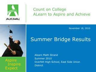 Summer Bridge Results