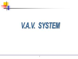 V.A.V.  SYSTEM