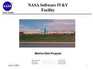 NASA Software IVV Facility