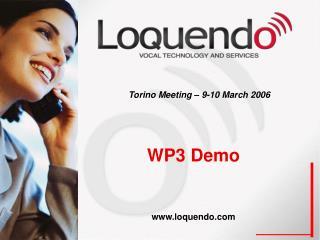 WP3 Demo