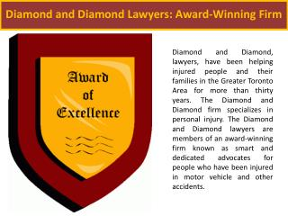 Diamond and Diamond Lawyers: Award-Winning Firm