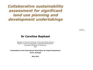 Dr Caroline Raphael