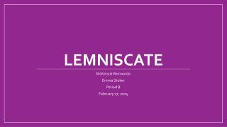 Lemniscate