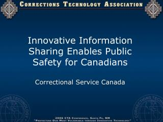 Correctional Service Canada