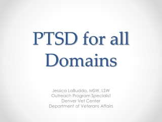 PTSD and the VA