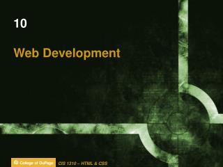 10 Web Development