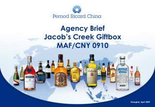 Agency Brief Jacob's Creek Giftbox MAF/CNY 0910