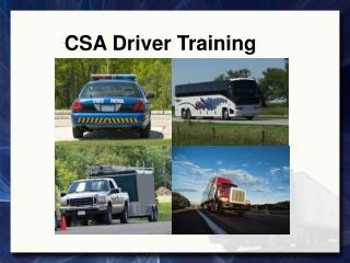 CSA Driver Training