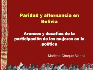 Marlene Choque Aldana