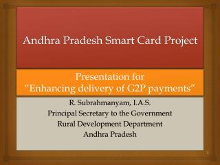 Andhra Pradesh Smart Card Project