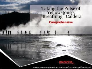 "Taking the Pulse of Yellowstone's "" Breathing ""  Caldera"