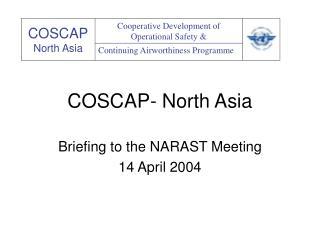 COSCAP- North Asia
