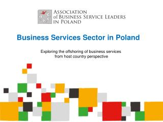 Business Services Sector in Poland