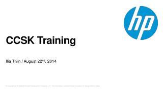 CCSK Training