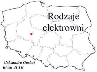 Aleksandra Garbuś  Klasa  II TE.