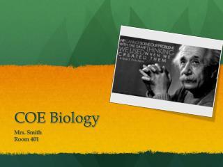 COE Biology