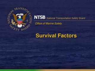 Survival Factors