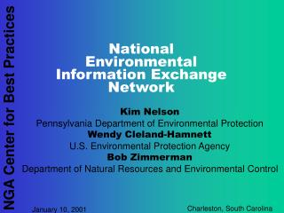 National Environmental Information Exchange Network