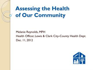 Assessing the Health of Our Community