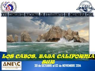 XXIII CONGRESO NACIONAL DE ESTUDIANTES DE INGENIERIA CIVIL