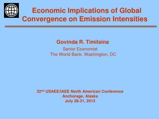 Economic Implications of Global Convergence on Emission Intensities