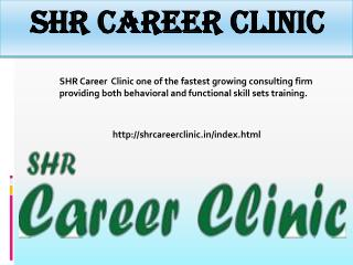A leading Career Guidance by SHR Career Clinic
