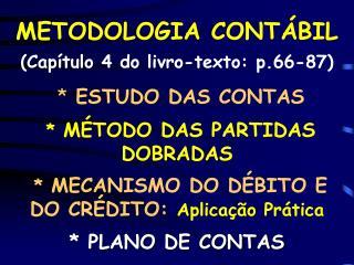 METODOLOGIA CONTÁBIL