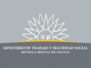 Ministro de Trabajo y Seguridad Social de la República Oriental del Uruguay  Eduardo Brenta