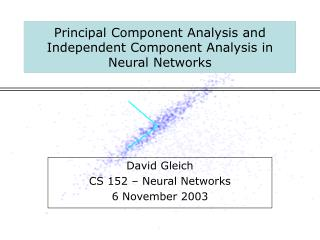 Principal Component Analysis and Independent Component Analysis in Neural Networks