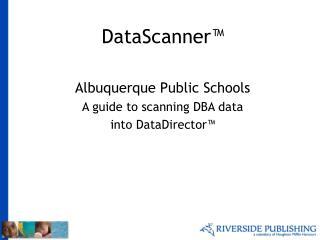 DataScanner�