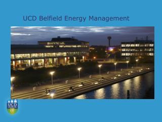 UCD Belfield Energy Management
