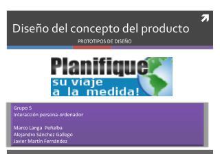 Diseño del concepto del producto