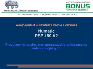 PSP180A2 Vacuum Cleaner Presentation