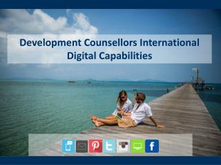 Development Counsellors International   Digital Capabilities