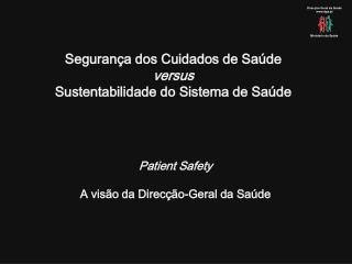 Direcção-Geral da Saúde dgs.pt