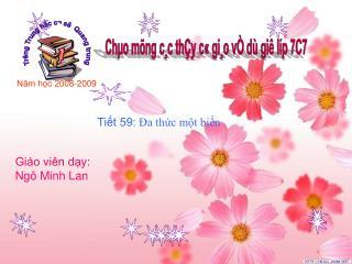 Trêng Trung häc c¬ së  Quang trung