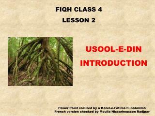 FIQH CLASS 4 LE SSON 2