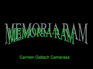 Carmen Gallach Camarasa