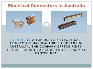 Electrical Connectors in Australia