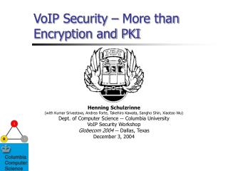 VoIP Security   More than Encryption and PKI